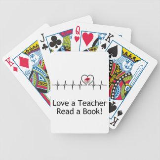 Houd van een Leraar Poker Kaarten
