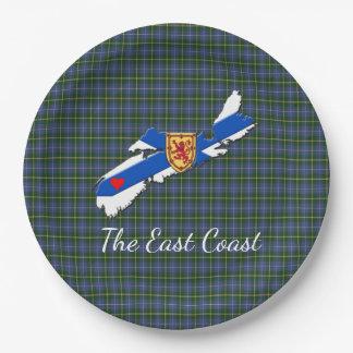 Houd van het bord van het Geruite Schotse wollen