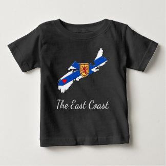 Houd van het het babyoverhemd van Nova Scotia van Baby T Shirts