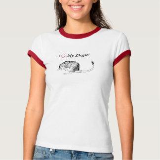Houd van Mijn Overhemd Degu T Shirt