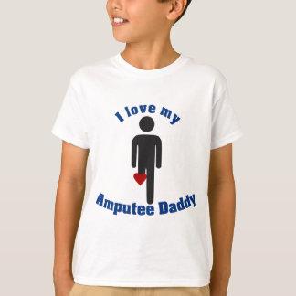 Houd van mijn Papa van de Geamputeerde T Shirt