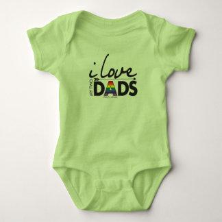 Houd van Mijn Twee Dads - baby! Romper