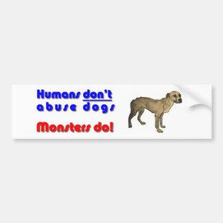 Houd van Uw hond Bumpersticker