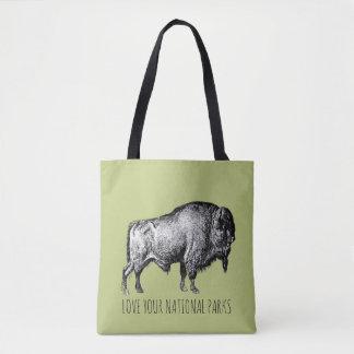 Houd van Uw Nationaal Canvas tas van de Buffels Nr