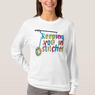Houdend u in Steken - haak T Shirt