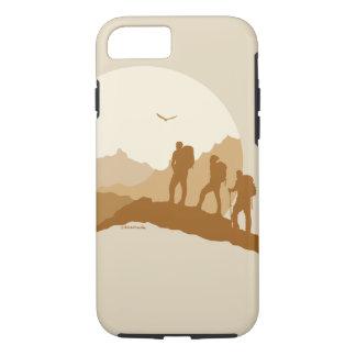 Houdend van de Berg die van het Leven Iphone iPhone 8/7 Hoesje