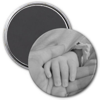 Houdende van Handen Ronde Magneet 7,6 Cm