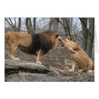Houdende van leeuwen kaart
