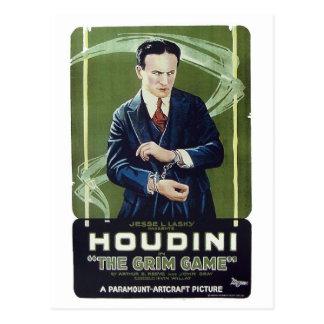 """Houdini het Briefkaart - van het """"Onverbiddelijke"""