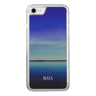 Houdt de eenvoudige duidelijke nieuwe stijl van de Carved iPhone 8/7 hoesje
