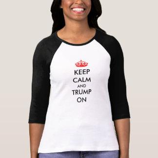 houdt de Witte Zwarte van de T-shirt van vrouwen