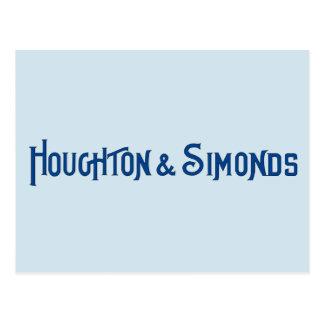 Houghton & Briefkaart Simonds