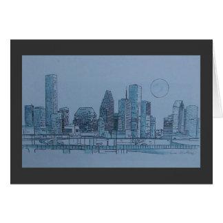 Houston horizon briefkaarten 0