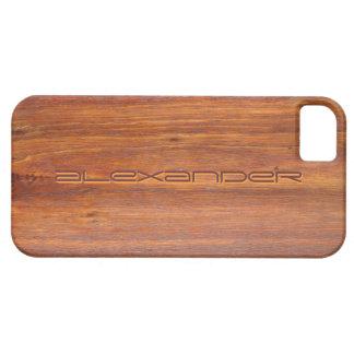 Hout Aangepaste dekking iPhone5 iPhone 5 Case