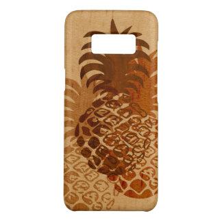 Hout Faux van de Ananas van Momona het Hawaiiaanse Case-Mate Samsung Galaxy S8 Hoesje