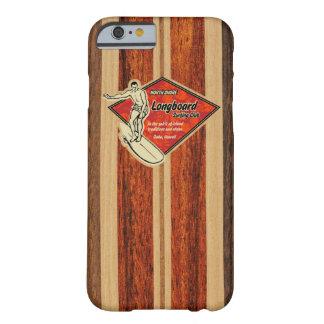 Hout Faux van de Surfplank van Waimea het Hawaiiaa Barely There iPhone 6 Hoesje