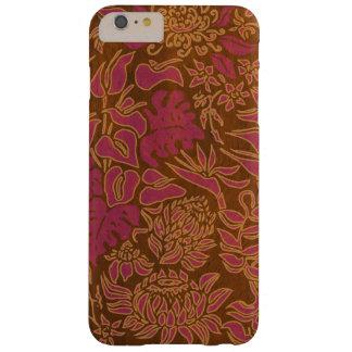 Hout van Protea Faux van de Ochtend van Kauai het Barely There iPhone 6 Plus Hoesje