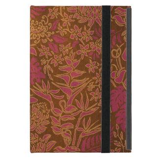 Hout van Protea Faux van de Ochtend van Kauai het iPad Mini Hoesje