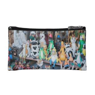 Houten bazar speelgoed make-up bag