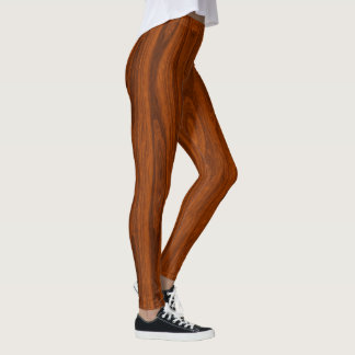 Houten benen leggings