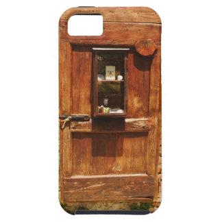 Houten deur van een huis, Monteriggioni, Siena Tough iPhone 5 Hoesje