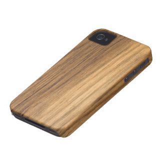 Houten iPhone 4 van de Schuur van Faux geval-Partn iPhone 4 Hoesje
