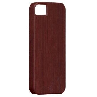 Houten iPhone 5 van de Textuur Dekking Barely There iPhone 5 Hoesje