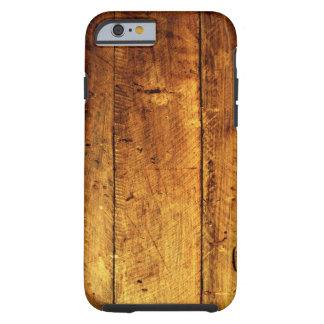 Houten iPhone 6 van de Textuur hoesje Tough iPhone 6 Hoesje