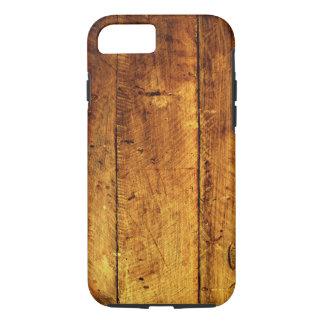 Houten iPhone 7 van de Textuur hoesje