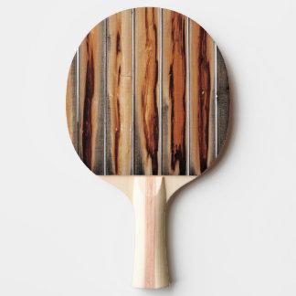 Houten Koele Uniek van de Textuur van de Omheining Tafeltennis Bat