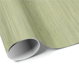 Houten Korrel van het Bamboe van het mos ziet de Cadeaupapier