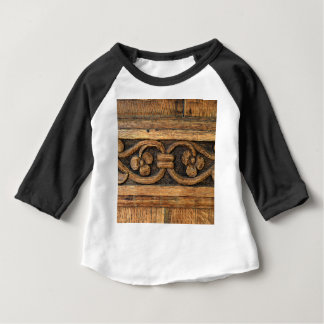 houten paneelbeeldhouwwerk baby t shirts