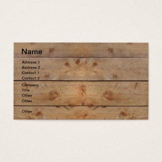 Houten Planken Visitekaartjes