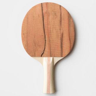 Houten textuur tafeltennis bat