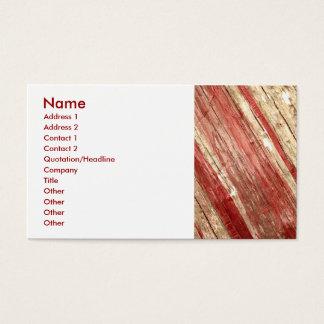 Houten Textuur Visitekaartjes