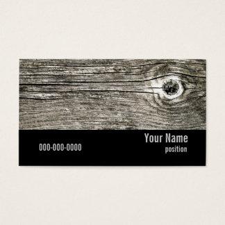 houten textuurvisitekaartje visitekaartjes