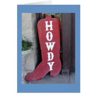 Howdy! Kaart