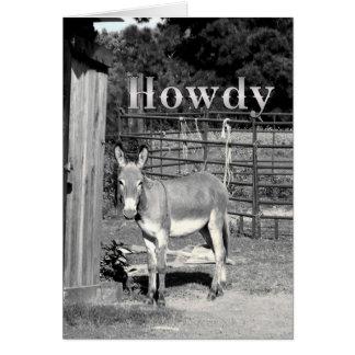 Howdy Kaart