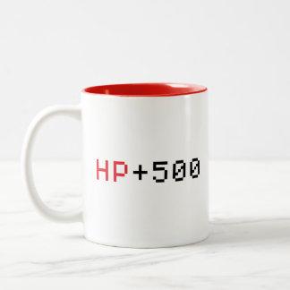 HP 500 spelmok met 8 bits Tweekleurige Koffiemok