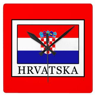 Hrvatska Vierkante Klok