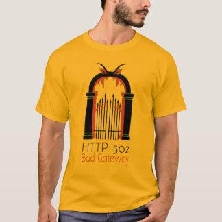 HTTP 502 Slechte Gateway T Shirt