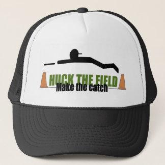 Huck het gebied, maakt de vangst trucker pet