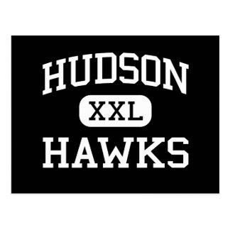 Hudson - Katholieke Haviken - - de Stad New Jersey Briefkaart