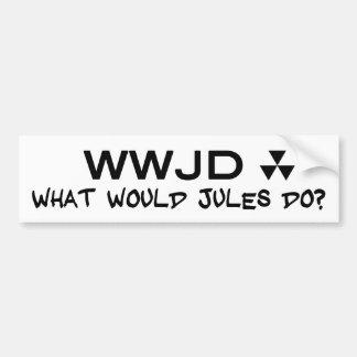 Hugh Howey What Would Jules Sticker doe
