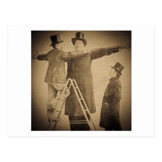 Hugo de Reuze Buitenissige Foto Wendt van het Briefkaart