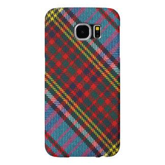 Huid 2 van Cellphone van het Geruite Schotse Samsung Galaxy S6 Hoesje