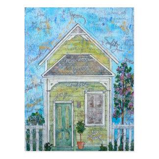 Huis Briefkaart