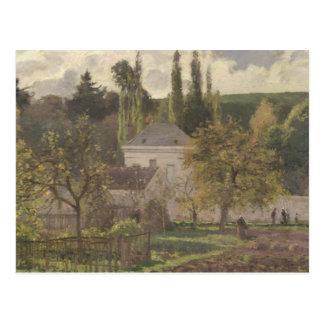 Huis in de Kluis, Pontoise, 1873 Briefkaart