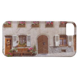 Huis in het dorp van de Gruyère, Zwitserland Barely There iPhone 5 Hoesje