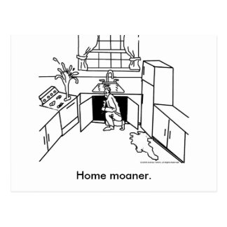 Huis-Moanership, Huis moaner. Briefkaart